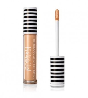 PRETTY by FLORMAR Cover Up Liquid Concealer Ivory