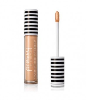 PRETTY by FLORMAR Cover Up Liquid Concealer Light Beige