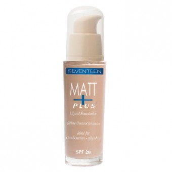 SEVENTEEN Fond de ten Matt Plus 05 Dark Beige