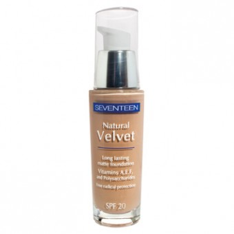 SEVENTEEN Natural Velvet Fond de Ten 03 Light Beige