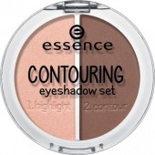 Essence Contouring Eyeshadow set nr. 02 brownies with frosting