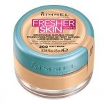 Fond de ten RIMMEL LONDON Fresher Skin 200 Soft Beige