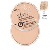 Pudra matifianta RIMMEL LONDON Stay Matte 03 Peach Glow