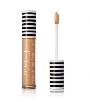 PRETTY by FLORMAR Cover Up Liquid Concealer Medium Beige
