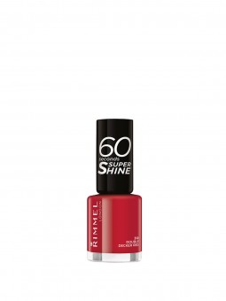 RIMMEL LONDON Lac de unghii 60 Seconds Shine 310 Double Decker Red
