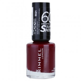 RIMMEL LONDON Lac de unghii 60 Seconds Shine 340 Berries And Cream