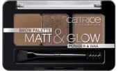 CATRICE Kit sprancene Brow Palette Matt &Glow 010 Now flash lights