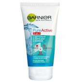 GARNIER Pure Active 3 in 1 gel de curatare