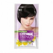 LONCOLOR Vopsea semipermanenta fara amoniac Trendy Colors N1 Negru Chillout