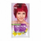 LONCOLOR Vopsea semipermanenta fara amoniac Trendy Colors R 6 Rosu techno
