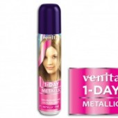 VENITA Spray colorant par 1 DAY metalic M1 pink