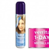 VENITA Spray colorant par 1 DAY metalic M4 blue jeans